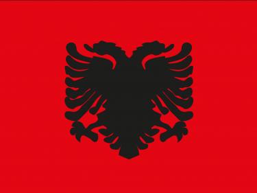 Vlag Albanië