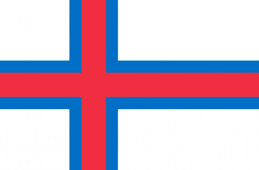 Vlag Faroe Eilanden