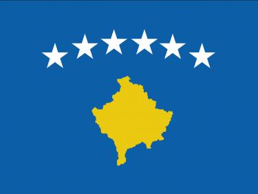 Vlag Kosovo