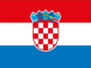 Vlag Kroatië