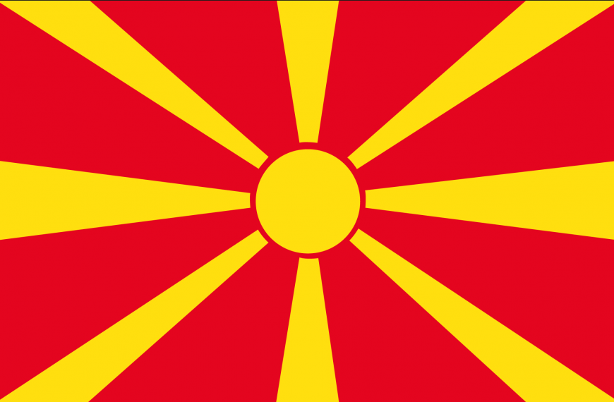 Vlag Macedonië