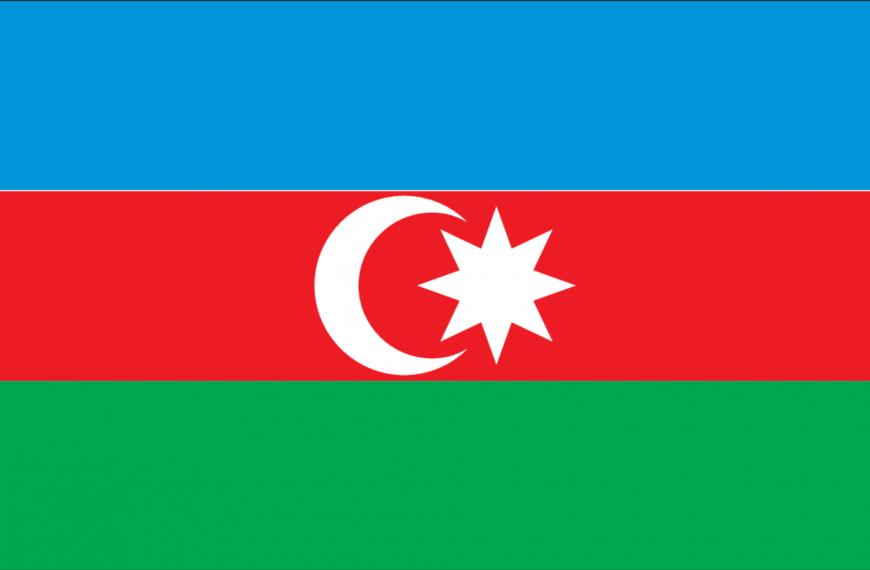 Vlag Azerbeidzjan