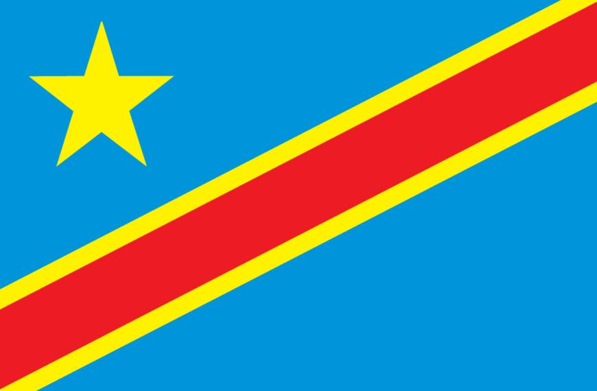 Vlag Dem Republiek Congo (Kinshasa)