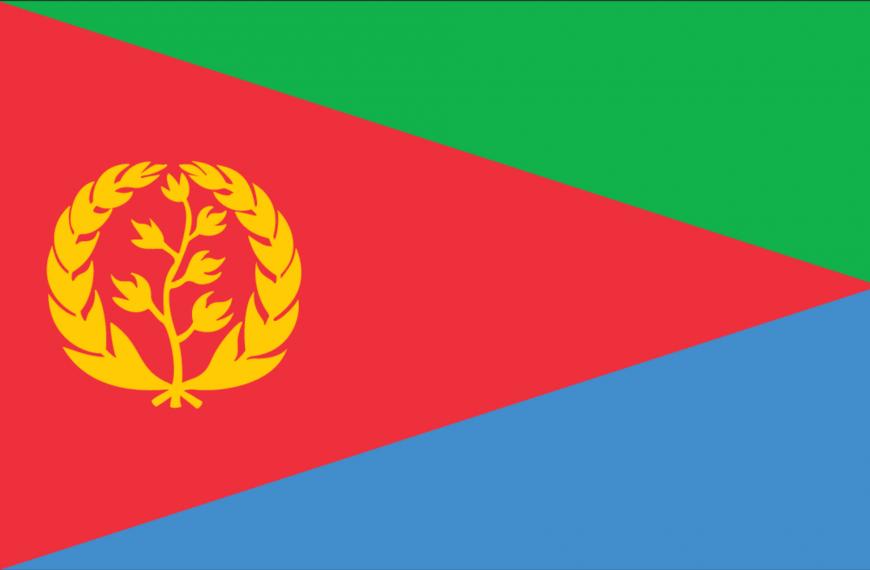 Vlag Eritrea