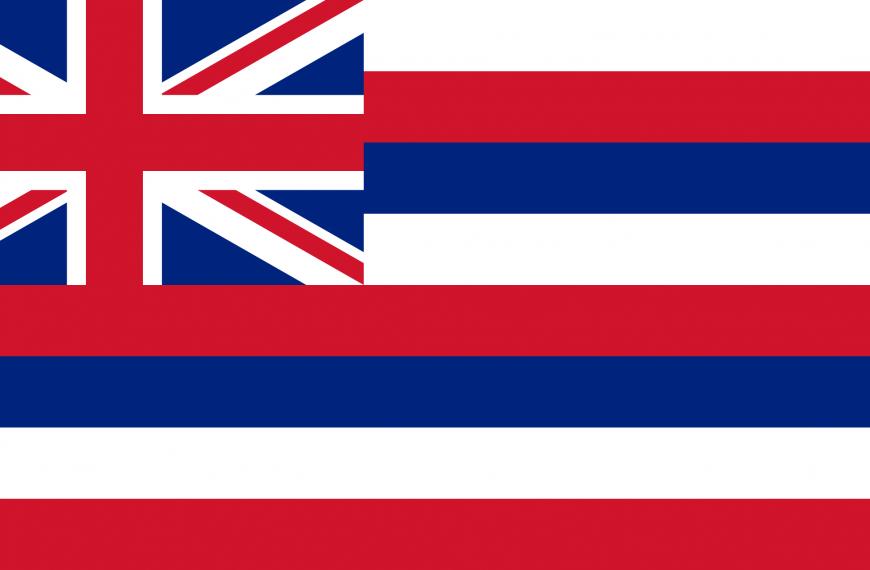 Vlag Hawaï