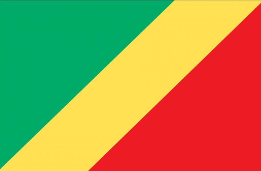 Vlag Kongo (Brazaville)