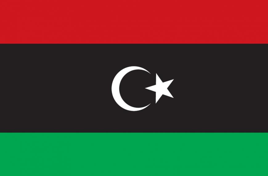 Vlag Libië