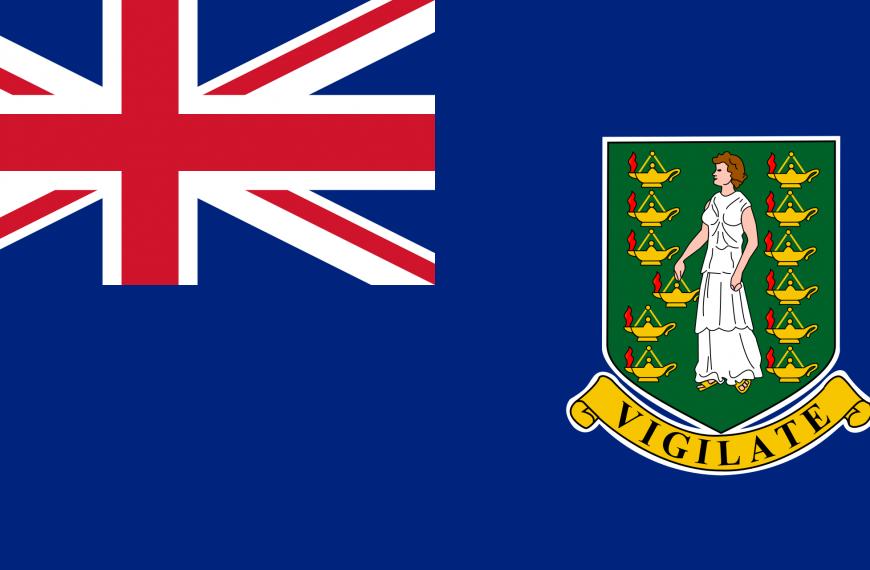 Vlag Maagden Eilanden
