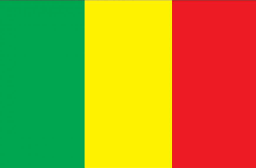 Vlag Mali