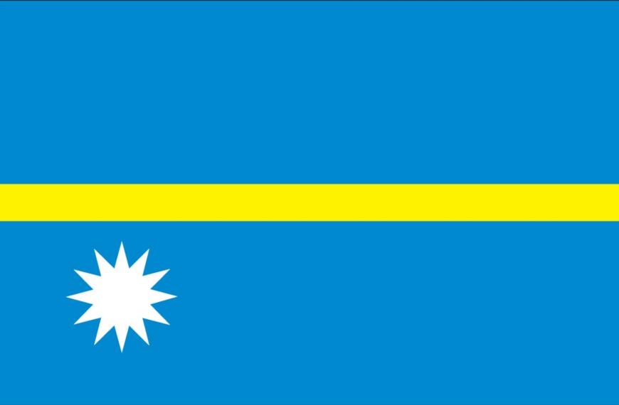 Vlag Nauru