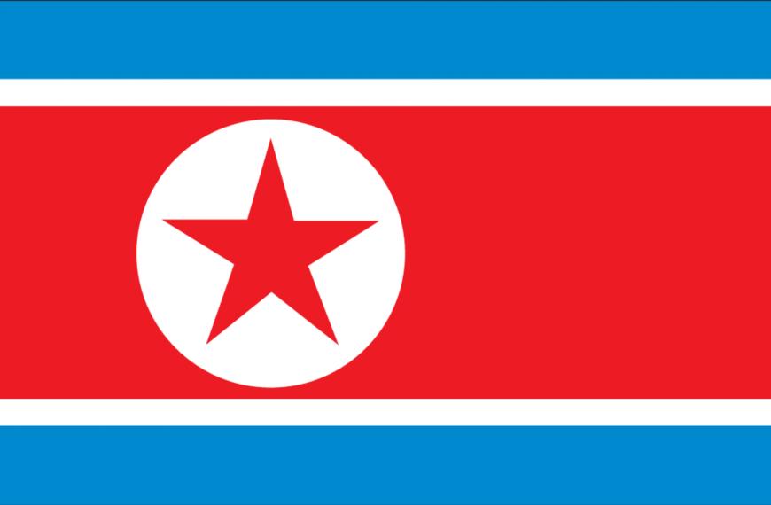 Vlag Noord-Korea