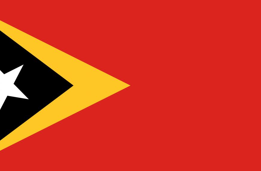Vlag Oost-Timor