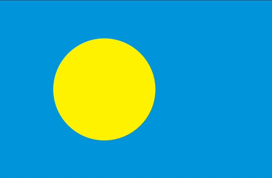 Vlag Palau