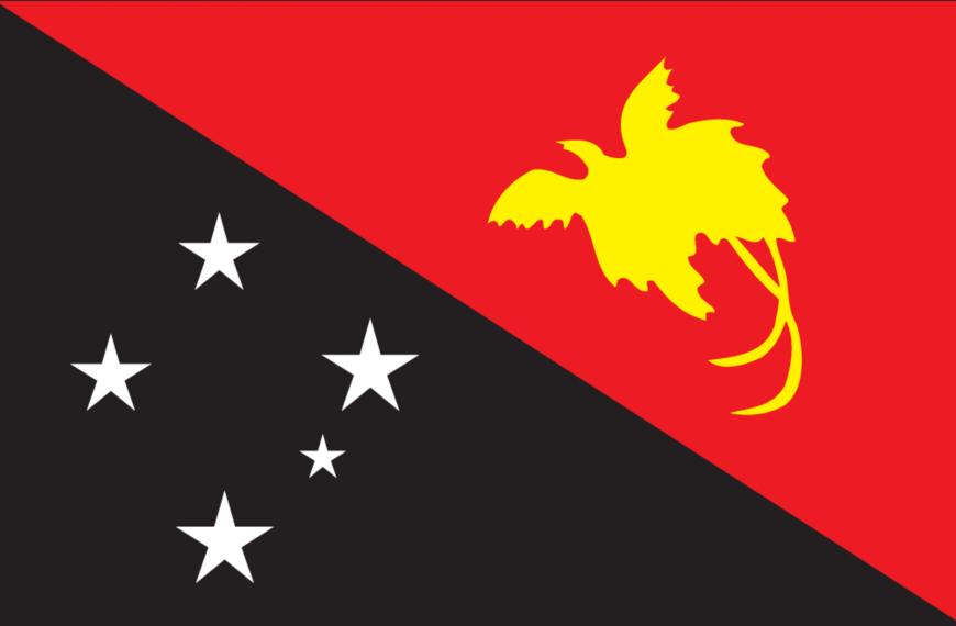 Vlag Papoea-Nieuw-Guinea