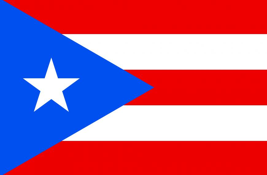 Vlag Porto Rico