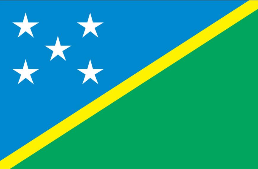 Vlag Salomons Eilanden