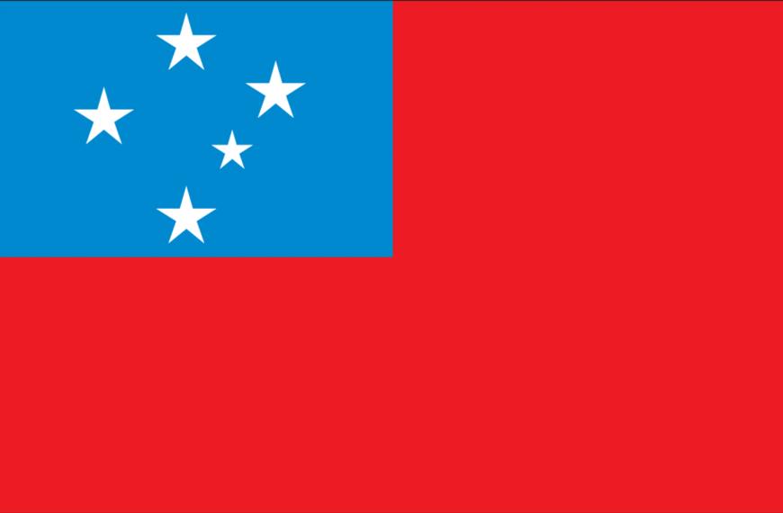 Vlag Samoa