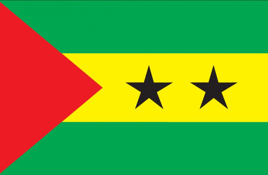 Vlag Sao Tomé en Principe