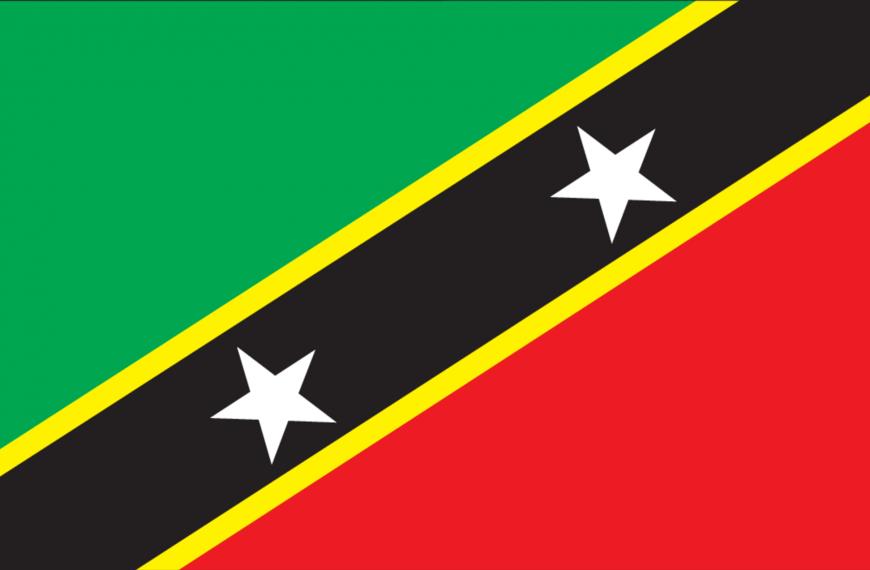 Vlag St. Kitts en Nevis