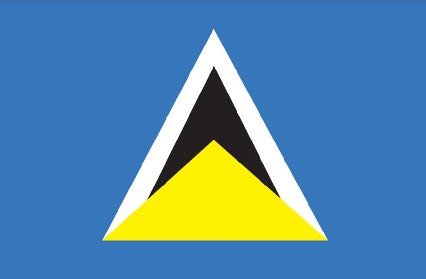 Vlag St. Lucia