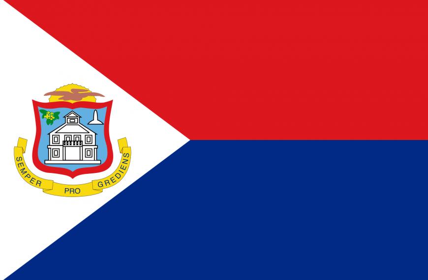 Vlag St. Maarten