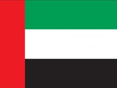 Vlag Ver. Arabische Emiraten
