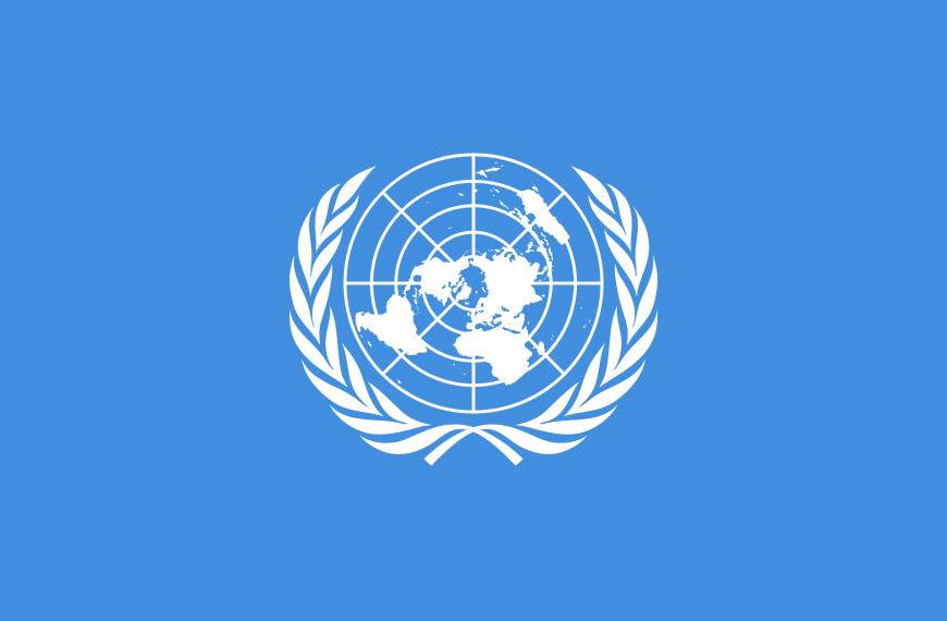 Vlag Verenigde Naties VN