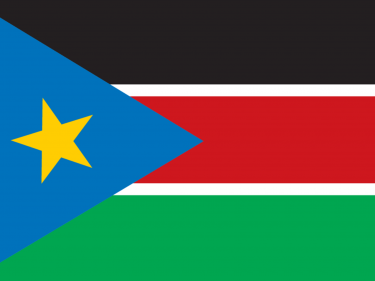 Vlag Zuid – Soedan