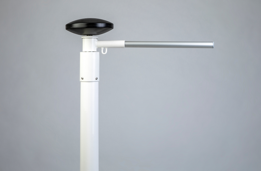 Banierhouder polyestermast top 65 mm voorzien van 2 kogellagers uithouder 150 cm