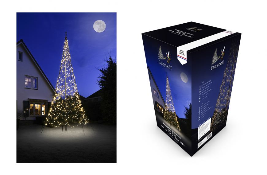 Fairybell 6 meter (1200 leds warm wit)