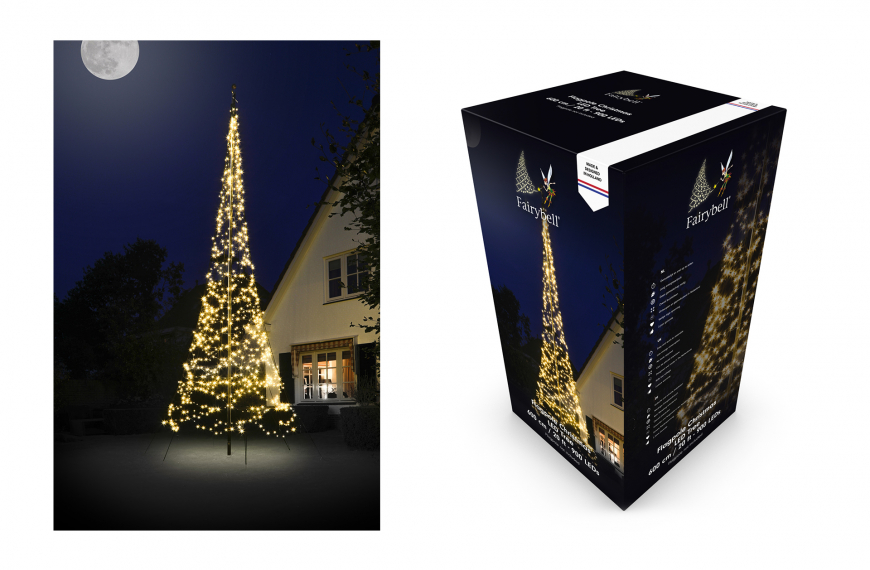 Fairybell 6 meter (900 leds warm wit)