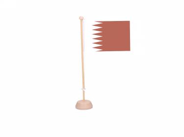 Tafelvlag Qatar