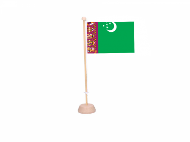 Tafelvlag Turkmenistan