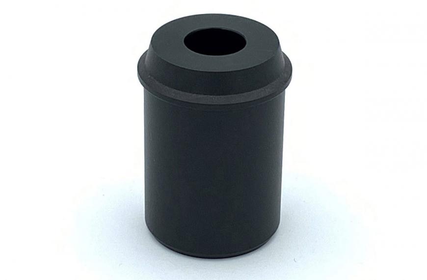 Glijlager banierhouder aluminum buis 65 mm tbv montage op polyestermast top 65 mm